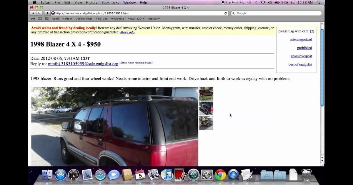 Craigslist Des Moines Iowa Cars For Sale By Owner - Car ...