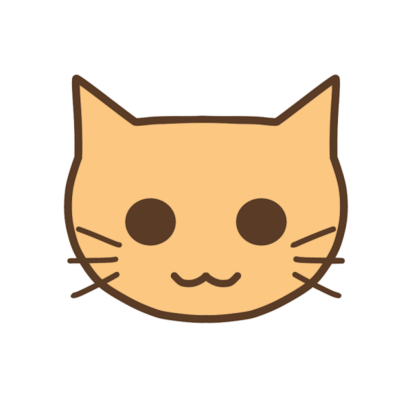 ネコの顔のイラスト かわいいフリー素材が無料のイラストレイン