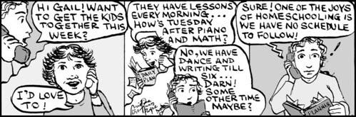 Home Spun comic strip #449