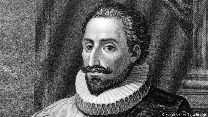 Spanien Schriftsteller Miguel de Cervantes