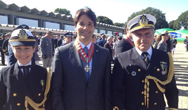 Felipe Maia homenagem Marinha