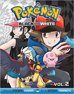 Pokemon black and white by Hidenori Kusaka book cover graphic novel