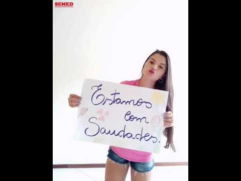 FIQUE EM CASA  -  Uma linda mensagem dos professores de Lago do Junco
