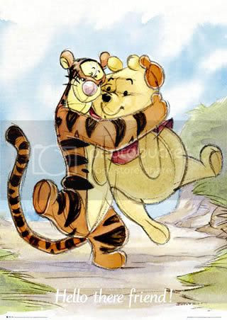 Tigger Pooh Hug Pictures, Images and  Photos