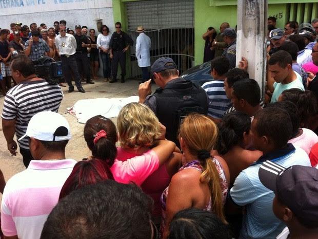 Luiz de França foi morto em academia no bairro de Cidade Satélite, em Natal (Foto: Augusto Gomes)