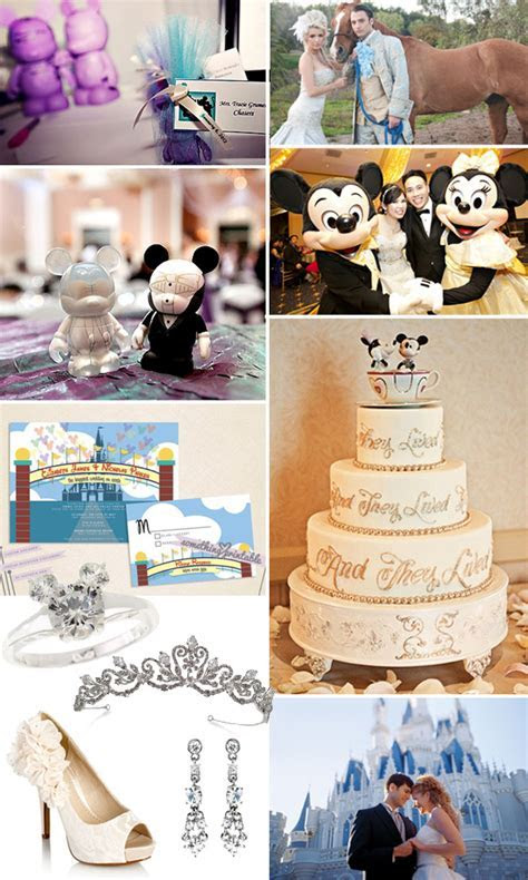 Disney Princess Themed Wedding