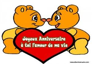 Drôle de carte d/'anniversaire pour mari femme fiancé AMOUR COPAIN COPINE Mignon Coeur