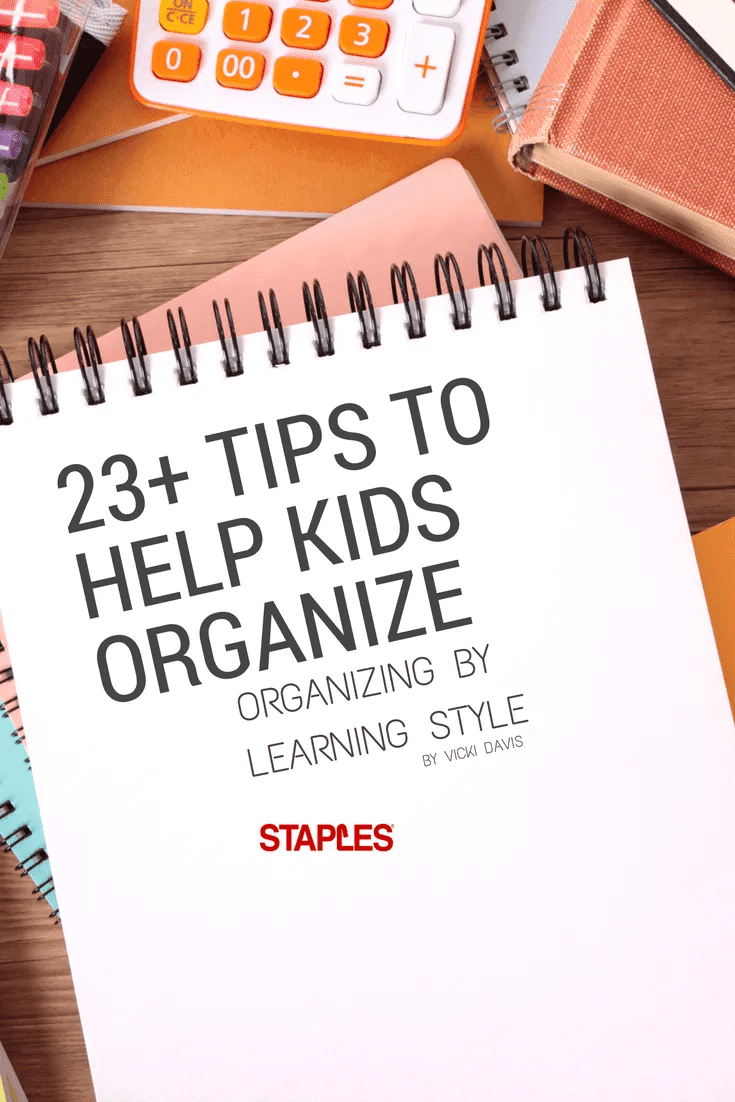 23+ Tips to help kids organize pinterest