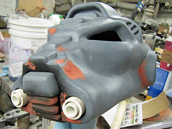 SM Terminator Snoot Details Progress