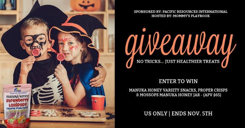 Enjoy #ManukaHealth with #ShopPRI. Enter to #WIN @ShopPRI No Tricks...Just Healthier Treats 15% OFF + FREE Ship – Discount Code: Halloween 15
