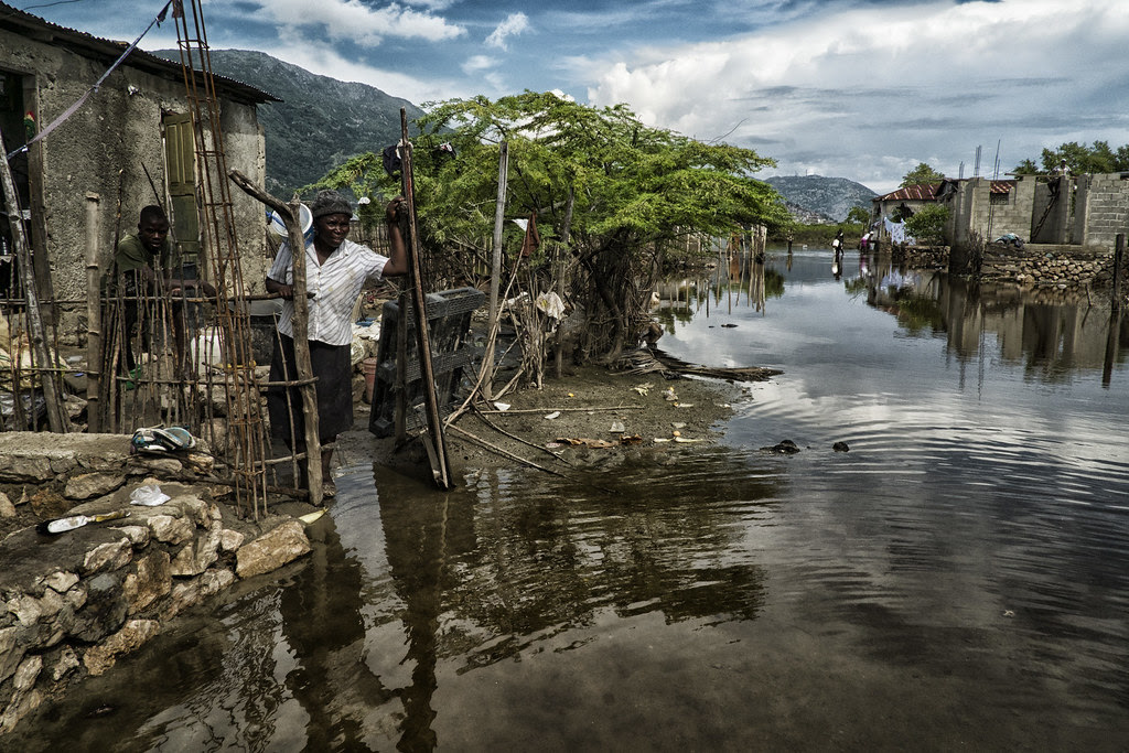 Thousands Displaced Due To Flooding In Cap Haitien Haiti