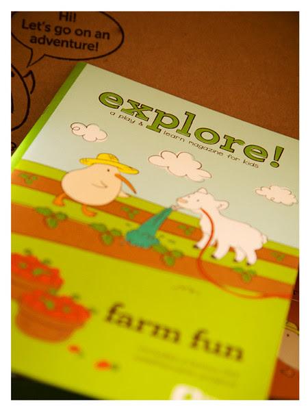 16-page Explore Magazine