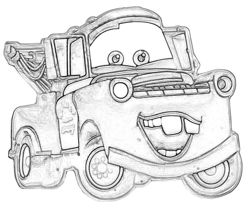 5 Best Images of Printable Coloring Pages Mater  Free