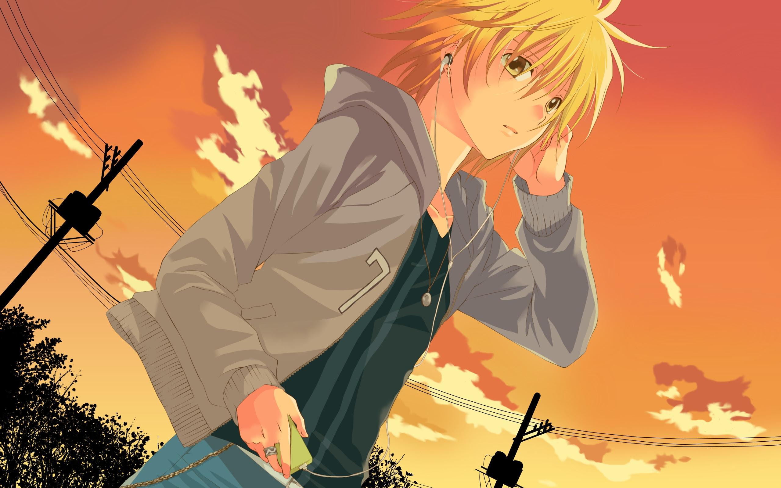 Anime Boy Wallpaper HD | PixelsTalk.Net