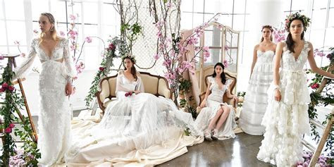 Best wedding dresses from Bridal Fashion Week spring 2018