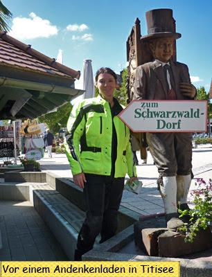 Svenja Svendura in Titisee Schwarzwald