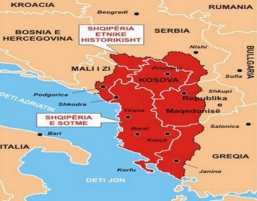 Bulgaria: 'Greater Albania' Enjoys Massive Support in Kosovo, Albania, Macedonia