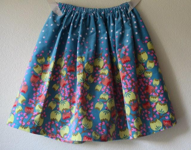 Simple Velveteen Skirt