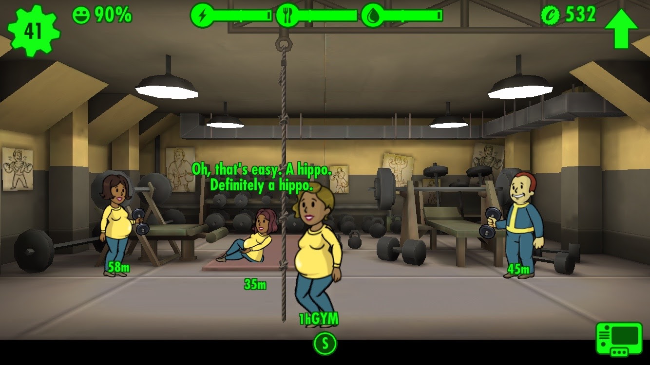 fallout shelter pregnant ladies