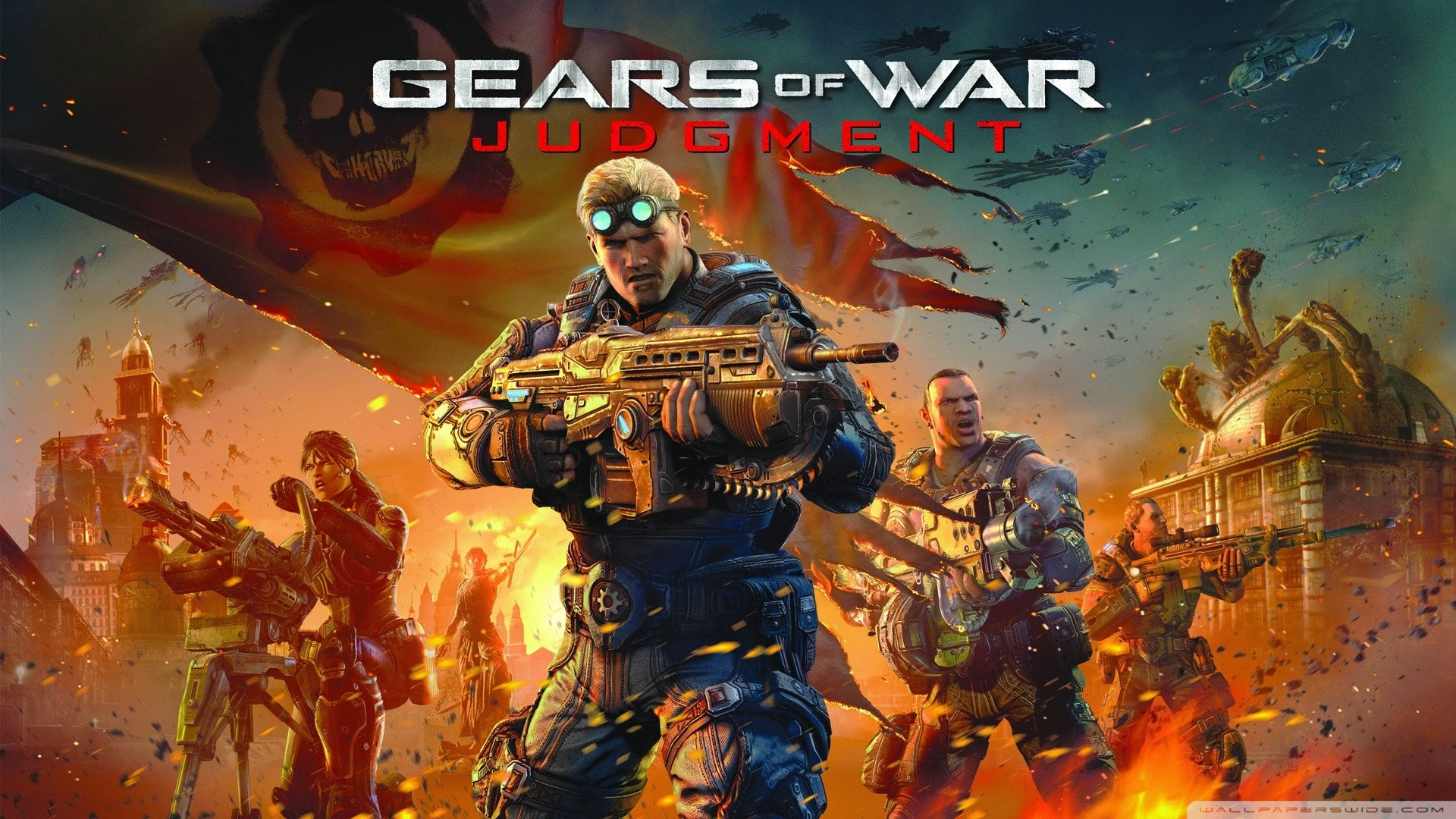 Gears Of War Judgment Wallpaper 76 Images
