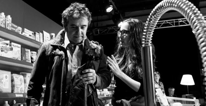 Miguel de Lira y Cristina Iglesias, en 'Eroski Paraíso'.