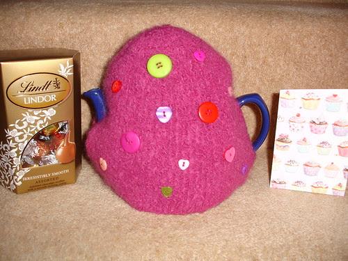 I'd luvva cuppa tea Valentine swap