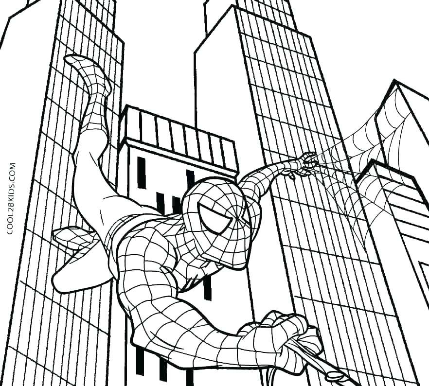 Baby Spiderman Coloring Pages at GetColorings.com | Free ...