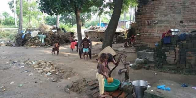 Despite heavy out migration, the Musaharis are still viewed as a rat-eating community. Firstpost/Devparna Acharya