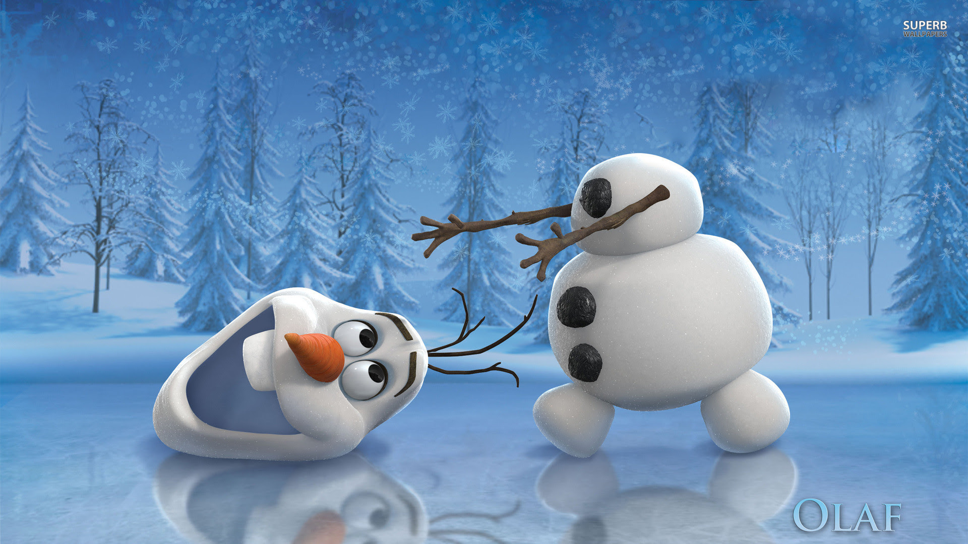 Christmas Olaf Wallpapers Backgrounds 55 Images