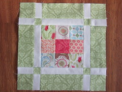 JR Quilt a long Block One Verna
