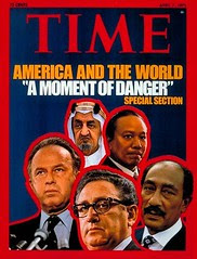 President Sadat on the cover of the time for the third time