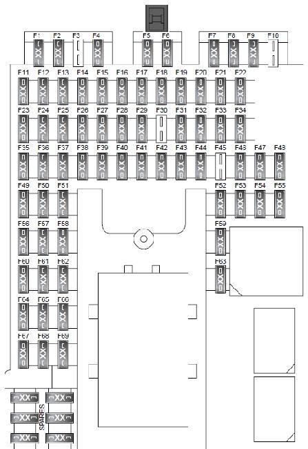 land rover series 3 fuse box location