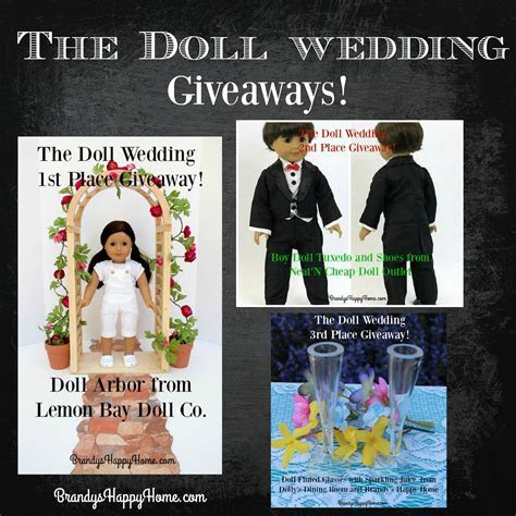 Doll Wedding Giveaways
