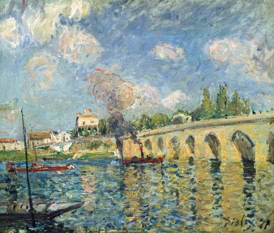 Alfred Sisley - The Bridge