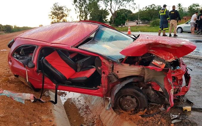 Tragédia: Família sofre acidente na BR 101 e uma criança morre