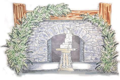Wedding Concept 3D Rendering   Concept Wedding Designs
