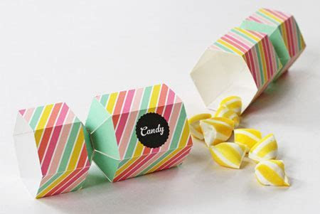 HOME DZINE Craft Ideas   Free gift box and party favour boxes