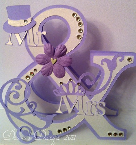 Cricut Ampersand Card