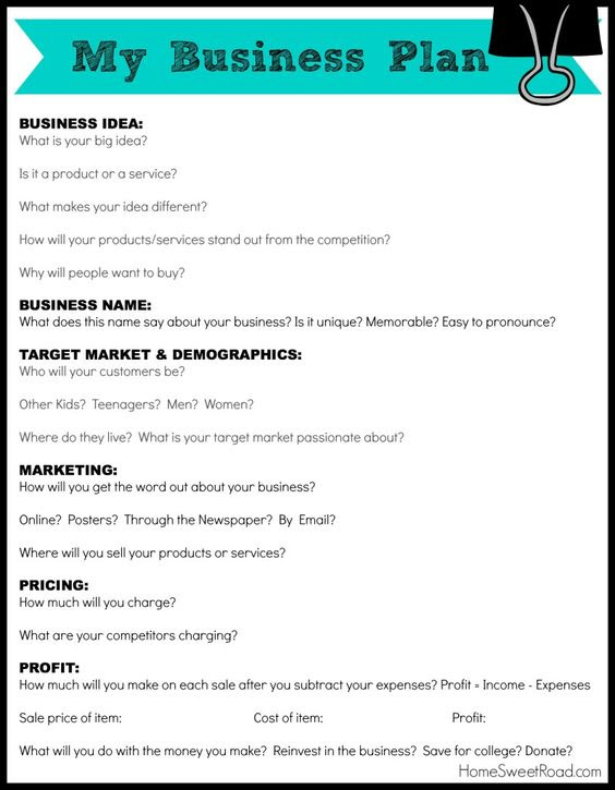pdf Simple Business Plan Template