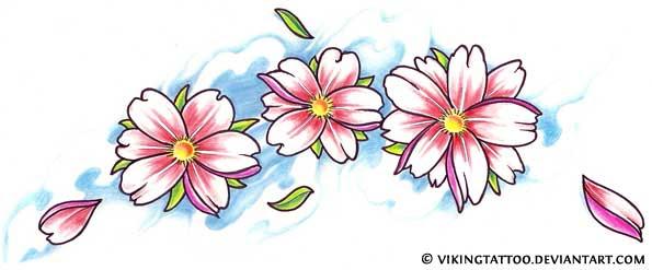 Cherry Blossom Tattoo Designs