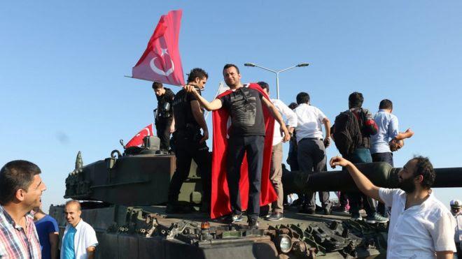 Tanque em Istambul