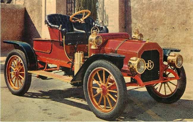 1908 REO Classic Car
