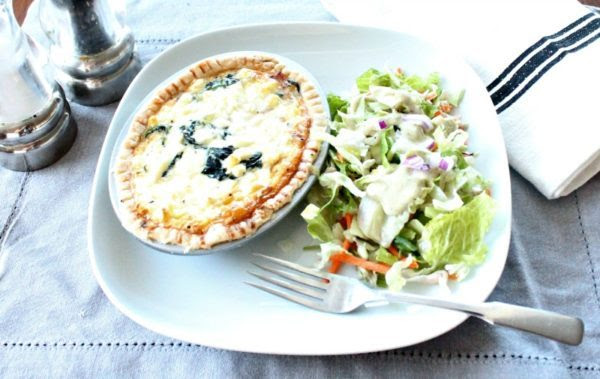 Canadian Bacon Spinach And Goat Cheese Tarts - Of Faeries & Fauna Craft Co. - HMLP 110 Feature