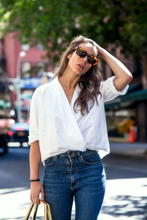 Le Fashion Blog 2 Ways Celine Sunglasses Cross Front White Shirt High Waisted Jeans Irina Lakicevic A Portable Package photo Le-Fashion-Blog-2-Ways-Celine-Sunglasses-Cross-Front-White-Shirt-High-Waisted-Jeans-Irina-Lakicevic-A-Portable-Package.jpg