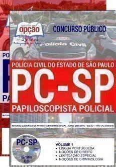 Apostila Concurso PC SP 2018 | PAPILOSCOPISTA POLICIAL