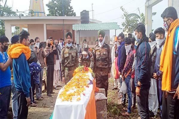 मणिपुर में हिमाचल का जवान शहीद, 15 अप्रैल को थी शादी