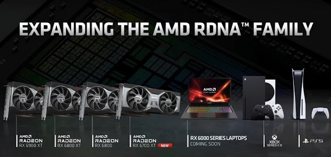 AMD confirmed the upcoming announcement of Radeon RX 6000 mobile graphics cards