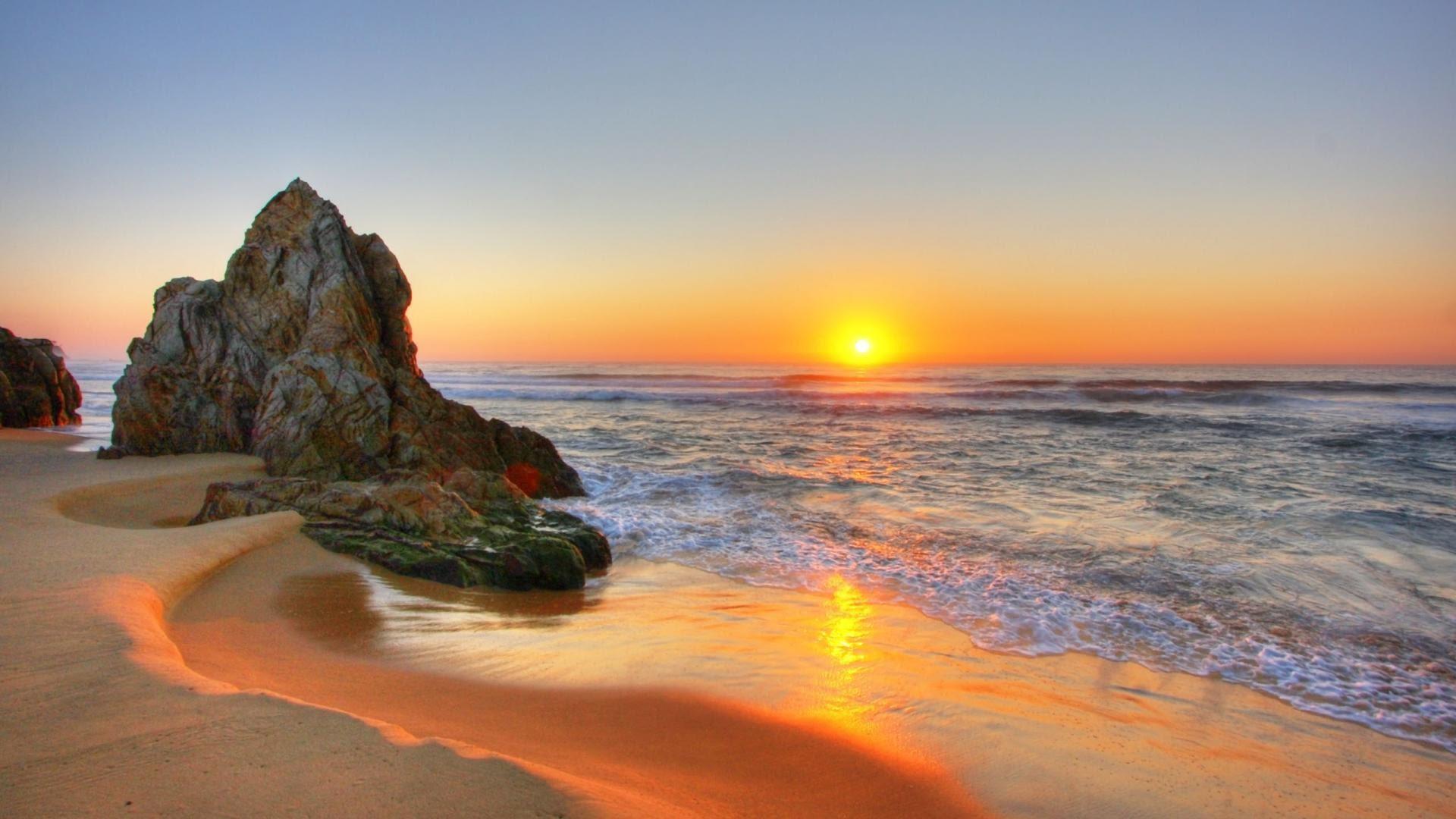 Beach Sunset Hd