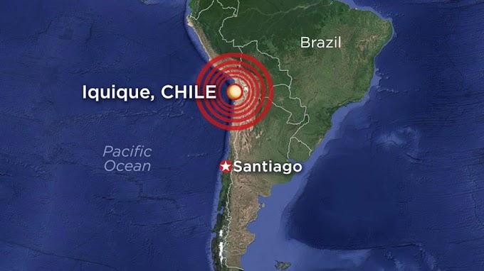 Terremoto de 7,8 abala Chile novamente e provoca alerta de tsunami.
