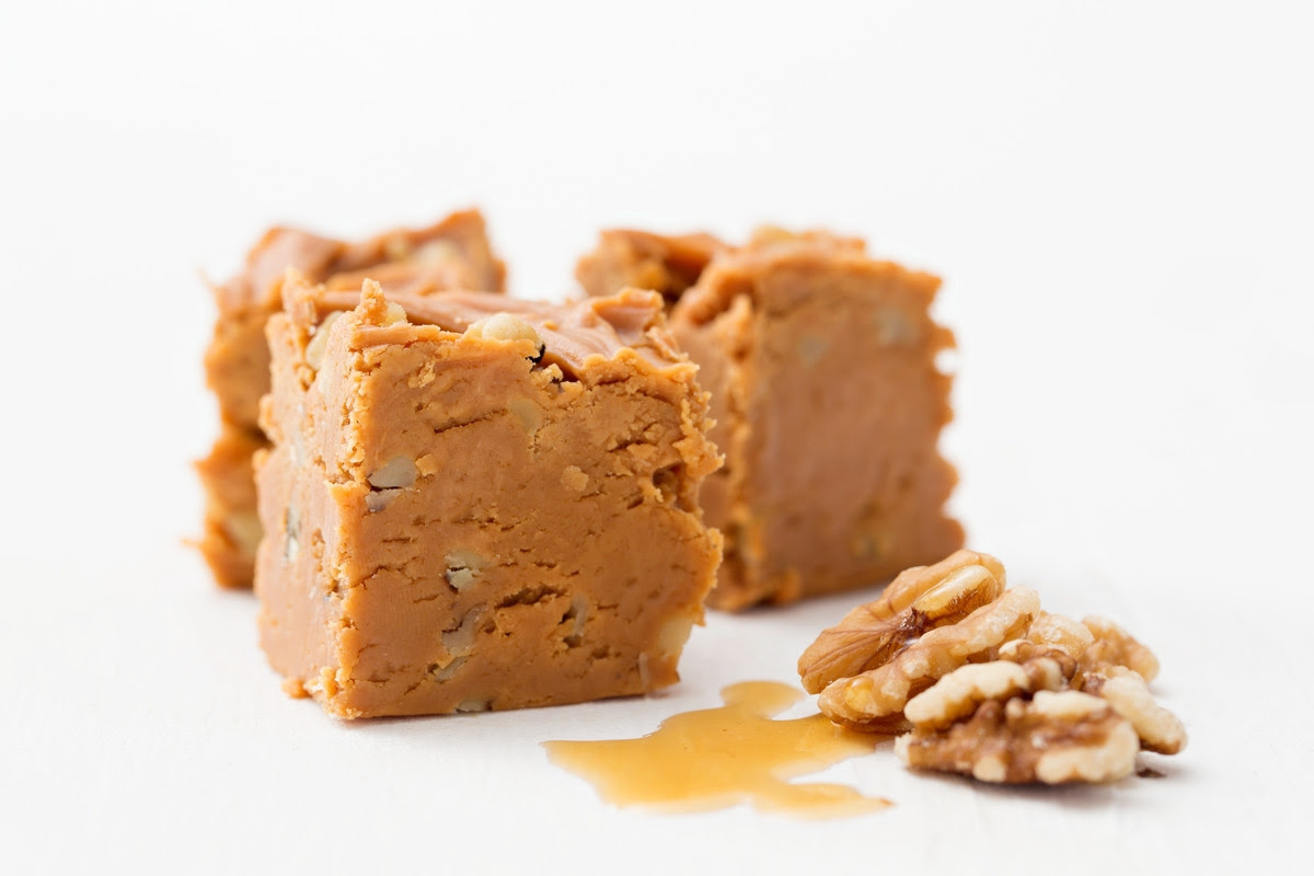 Maple Walnut Fudge from The Mill Fudge Factory